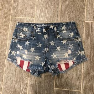 Mossimo Supply Cut Off Shorts High Rise Size 00